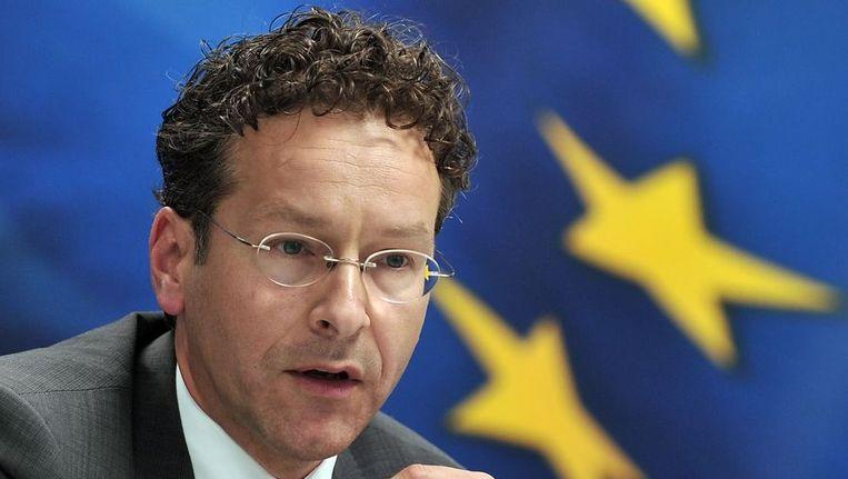 Minister van Financiën Jeroen Dijsselbloem Beeld afp