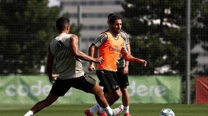 """Hazard zit opnieuw in Real-selectie, Zidane: """"Er is geen terugval"""""""