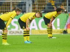 Dortmund ontsnapt aan nederlaag in extremis tegen hekkensluiter