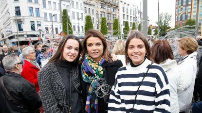 IN BEELD. Ook bekend Vlaanderen liep mee in de stille mars tegen seksueel geweld