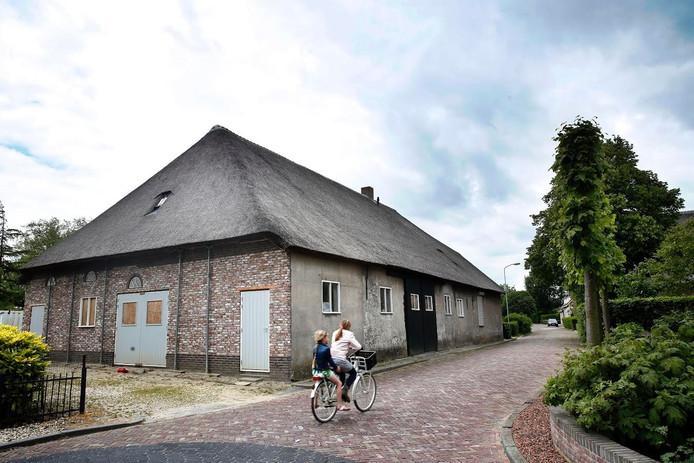 Toekomstig kerkelijk centrum aan de Dorpsstraat in Aalst.