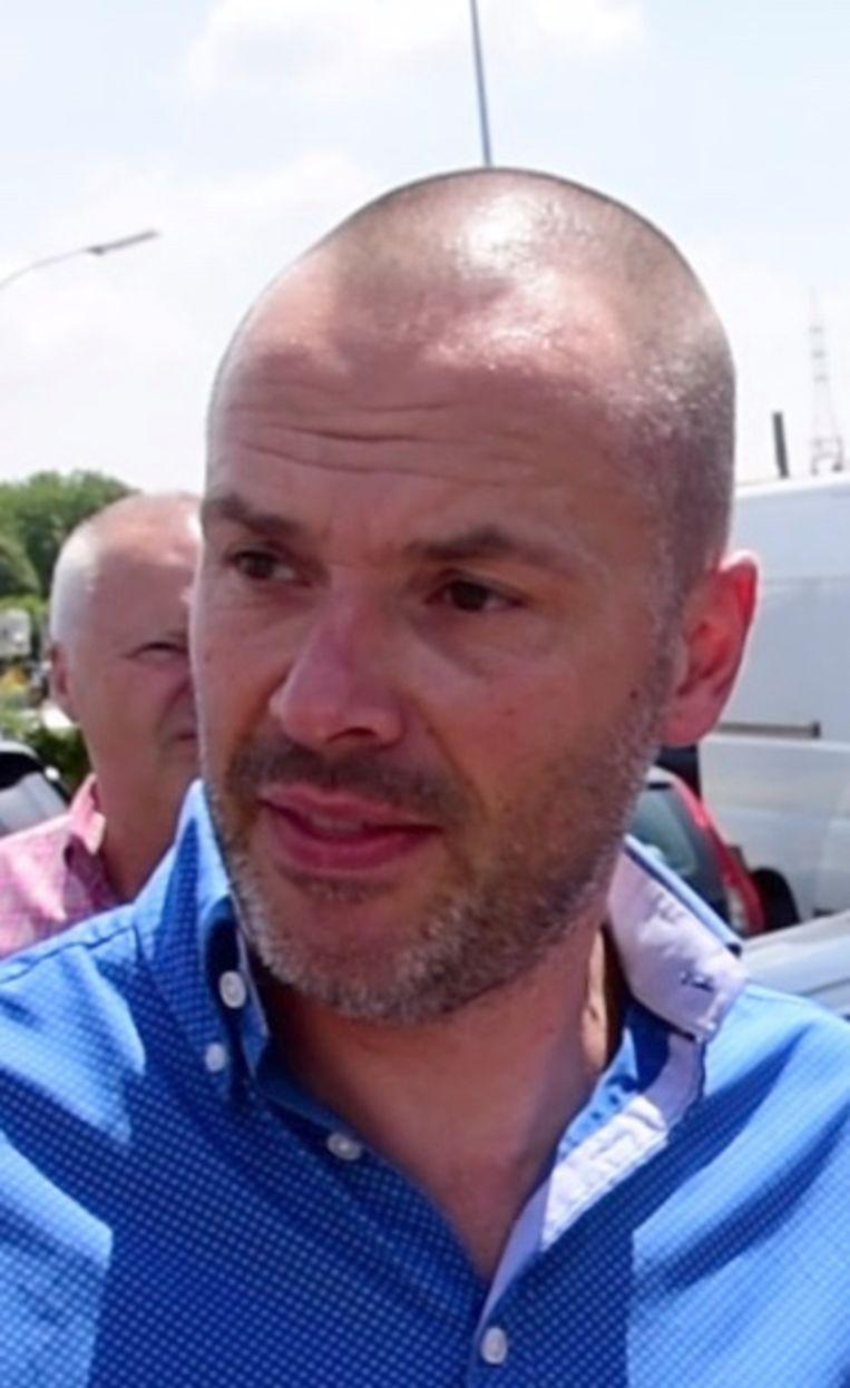 Wielertoerist Klaas Vandommele (51) uit Marke.