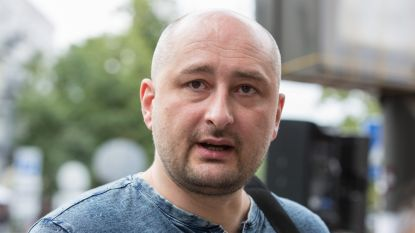 Russische journalist doodgeschoten in Kiev