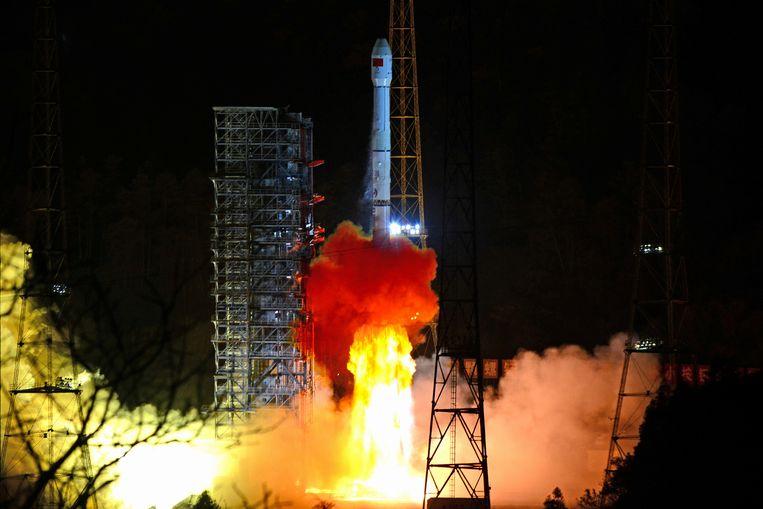 Op 8 december lanceerde een Lange Mars-3B draagraket nog de maansonde Chang'e 4.