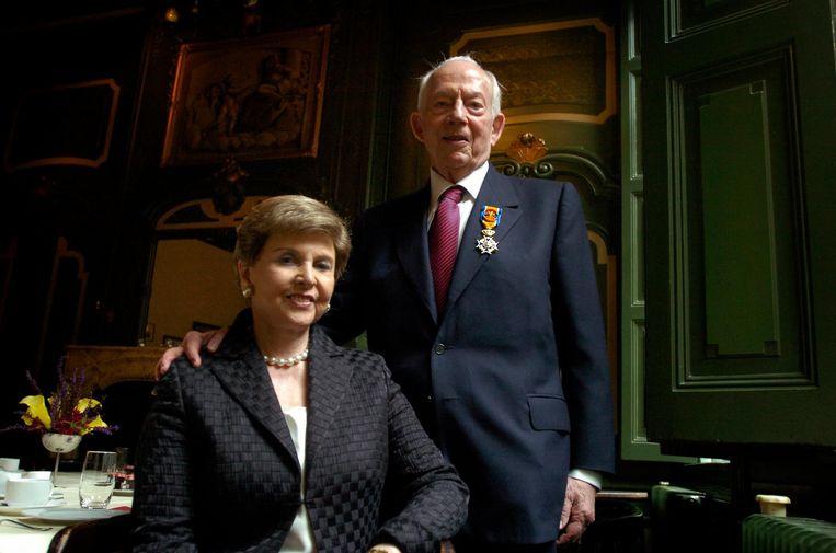 Raymond Sackler en zijn vrouw Beverly Beeld Hollands Hoogte / Taco van der Eb