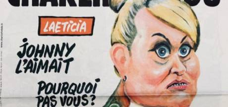 La Une de Charlie Hebdo qui ne va pas plaire à Laeticia Hallyday