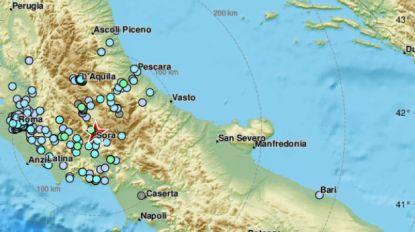 Midden van Italië opgeschrikt door aardbeving met kracht van 4.4