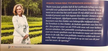 VVD maakt goede sier met gedeputeerde die maand geleden al opstapte