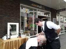 Een barbier voor Vaderdag: 'Zo kan ik weer thuiskomen'