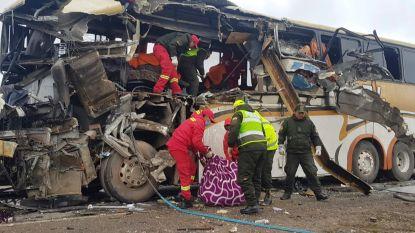 Zeker 22 doden bij zwaar verkeersongeluk met twee bussen in Bolivia
