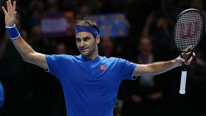 Ook Federer door naar laatste vier op ATP Finals