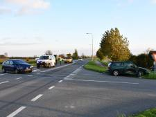 Twee gewonden na botsing op N286 bij Scherpenisse