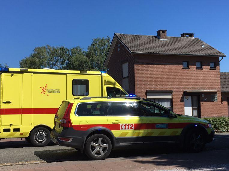 Bewoner kritiek na woningbrand in Houthalen-Helchteren.
