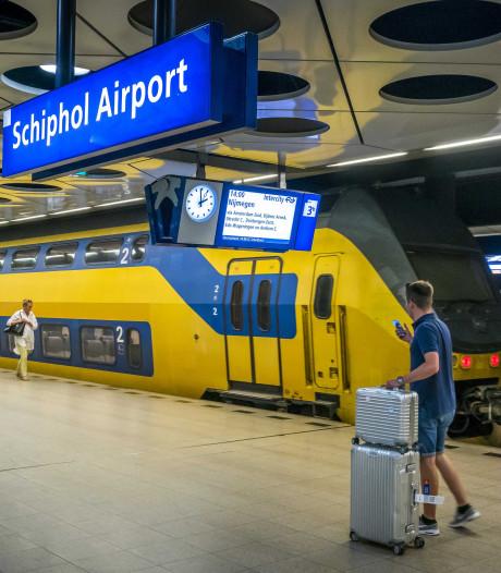 Winkeldief rent spoortunnel in: treinverkeer rond Schiphol plat