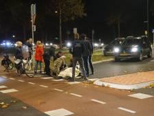 Fietser aangereden op rotonde Westsingel in Bunschoten