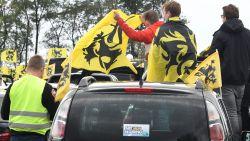 """Protestrit voor Vlaams Belang in Brussel: """"Hier zijn 5.000 auto's, een ongelooflijk succes"""""""