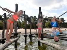 Nog één keer buiten zwemmen in september kan lang niet overal in regio Amersfoort
