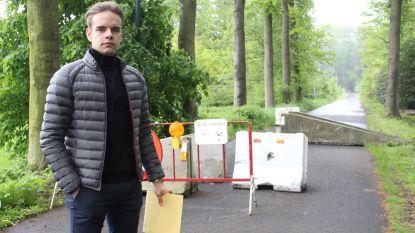 """Al 1.200 handtekeningen: """"Haal blokken weg en zet Oude Gentweg weer open voor verkeer"""""""