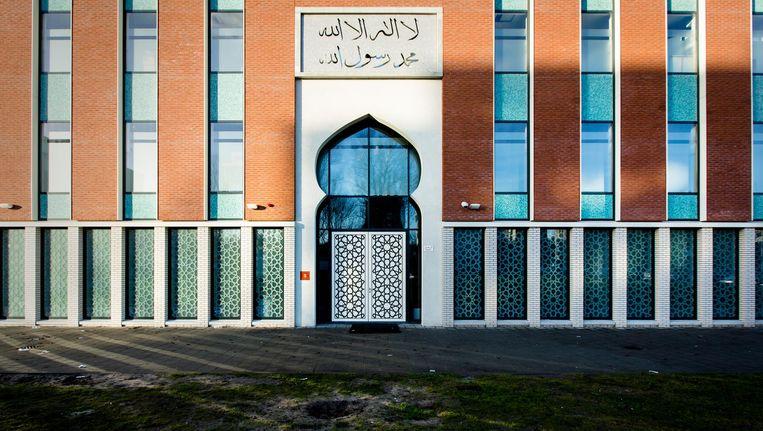 De Ummahmoskee aan het August Allebéplein, waar het bestuur zich via de rechter probeert te ontdoen van de imam. Beeld anp