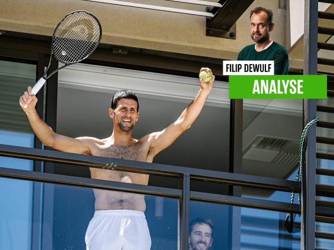 """Onze tennisexpert over hevig debat rond privileges van Djokovic en co: """"Verschil mag er zijn, maar liever iets minder openlijk"""""""