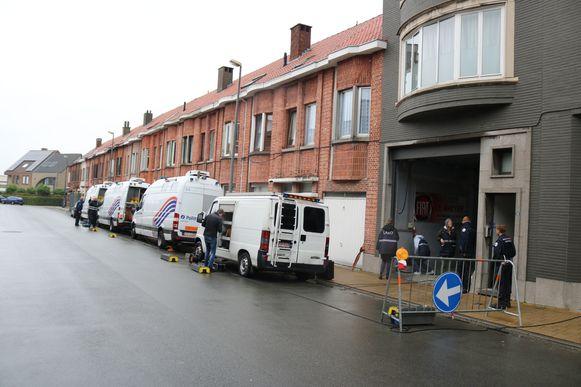 Ook in Sint-Niklaas vond een reconstructie plaats maar hier was Dennis P. niet meer bij aanwezig.
