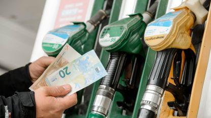 Dieselprijs daalt, maar de staat houdt wat meer over