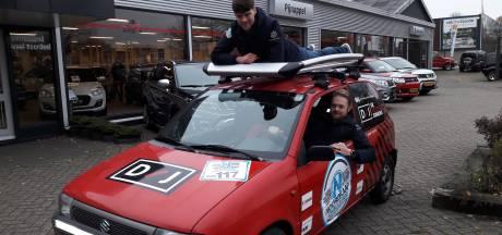 De Internet Jongens uit Apeldoorn bereiken de Noordkaap in windkracht negen