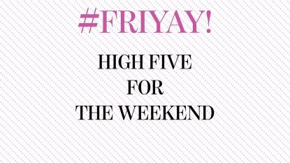 #FRIYAY! Vijf feel-good snacks om het weekend in te zetten