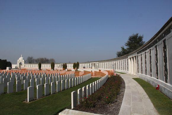 Een van de toeristische trekpleisters, het Tyne Cot Cemetery.