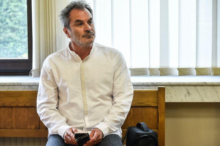 Guy Van Sande bij de behandeling van zijn zaak.