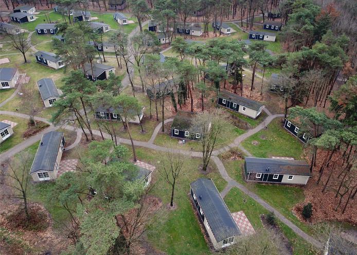 Recreatiepark De Bikkels in Deurne.