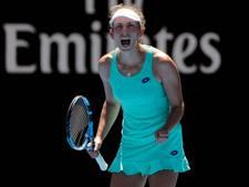 Belgische Mertens stunt met halve finale bij Australian Open