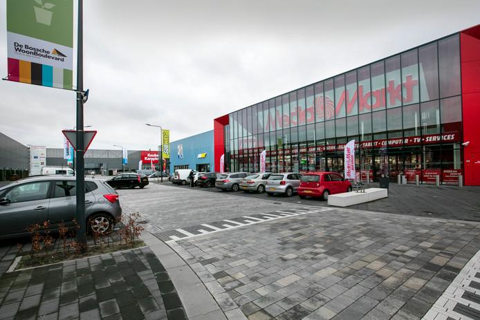 De Media Markt opende afgelopen jaar en is een publiekstrekker voor de woonboulevard tussen Den Bosch en Rosmalen.