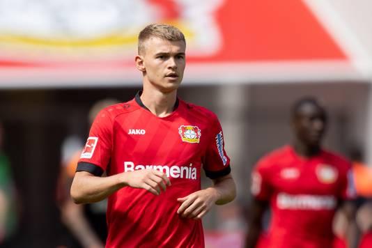 Daley Sinkgraven hoopt onder Peter Bosz bij Bayer Leverkusen weer wat vaker aan spelen toe te komen.