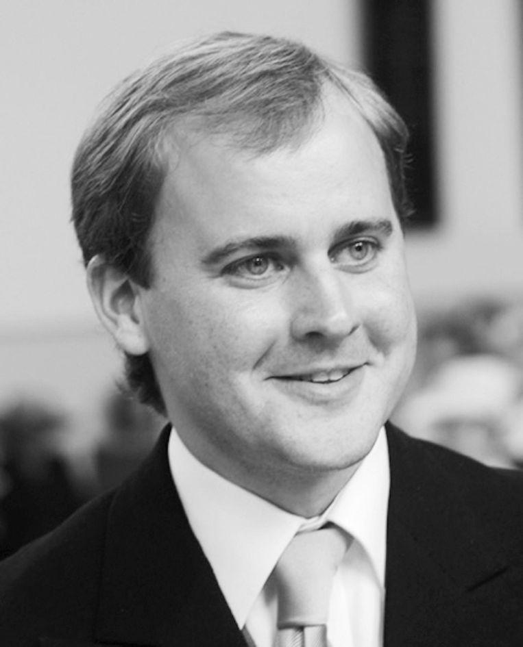 Joost Röselaers is predikant van Vrijburg in Amsterdam-Zuid. Beeld -