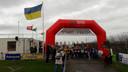 De Kerkwijk Cross, vlak voor de start van de ruim 30 junioren.