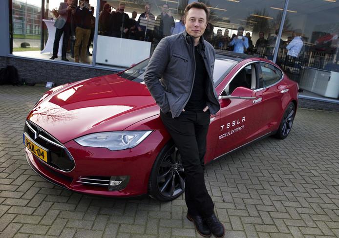 Elon Musk, medeoprichter van Tesla.