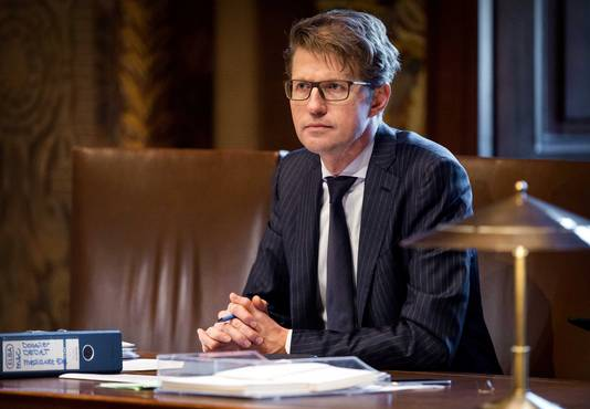 Staatssecretaris Sander Dekker