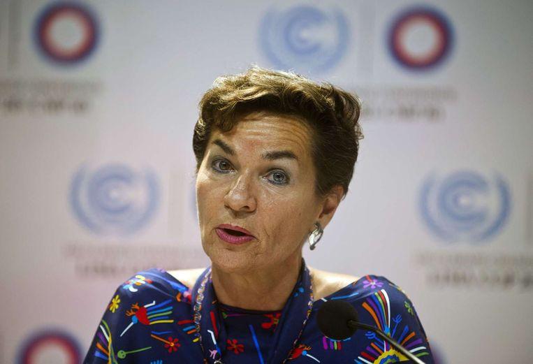 Christina Figueres. Beeld afp