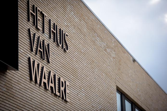 Gemeentehuis van Waalre dat vrijdagmiddag officieel is geopend.