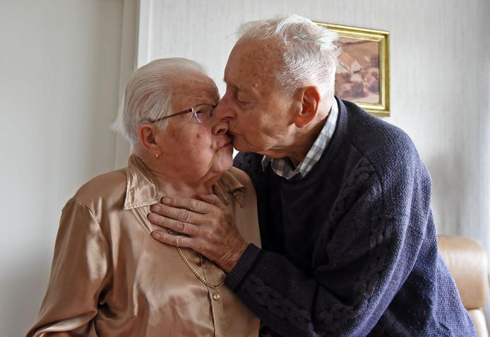 Co en Lea Boerman zijn op Valentijnsdag 70 jaar getrouwd.
