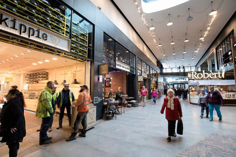 Mall of the Netherlands in Leidschemdam is het grootste overdekte winkelcentrum van Nederland, nu gedeeltelijk open, volgend jaar word deze geheel geopend. Beeld Inge Van Mill