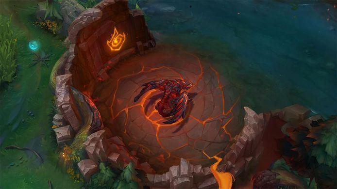 In League of Legends seizoen 10 verandert de Infernal Dragon het speelveld op unieke wijze