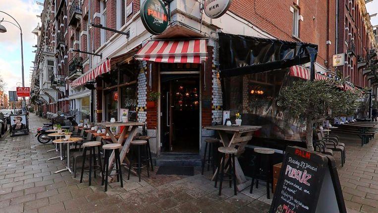 Café Sarphaat, aan het Sarphatipark, is één van de acht cafés van Çolak Holding B.V. Beeld Google Streetview