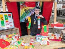 Lange Pier en oud wapen van Groesbeek op 'zök' van de Feestneus: om het carnaval levend te houden