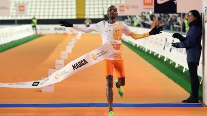 Bashir Abdi wint race over 10km in Madrid