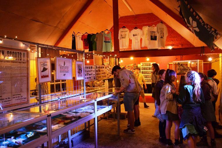 Een prachtig ingericht scoutsmuseum toonde een rijke geschiedenis van 70 jaar scouting in Lede.