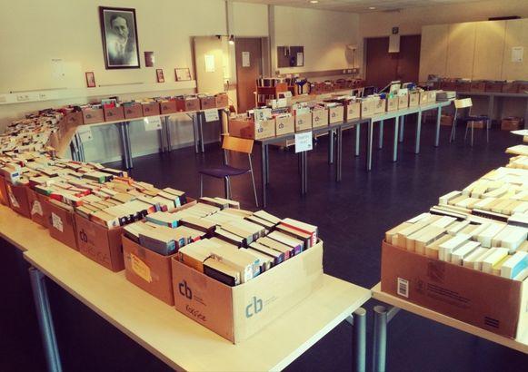 Boekenverkoop bibliotheek Koksijde