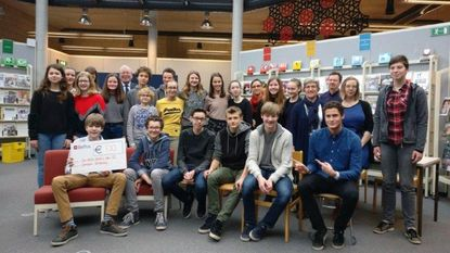 Klas 3I Don Bosco wint Kortenbersge poëziewedstrijd