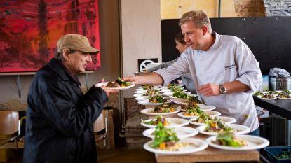 Seppe Nobels kookt voor kansarmen